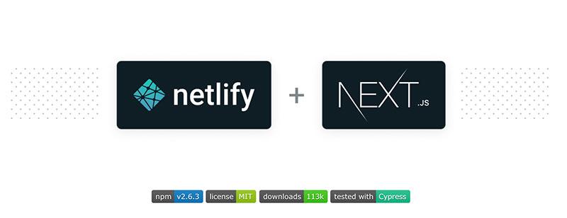 Next on Netlify readme
