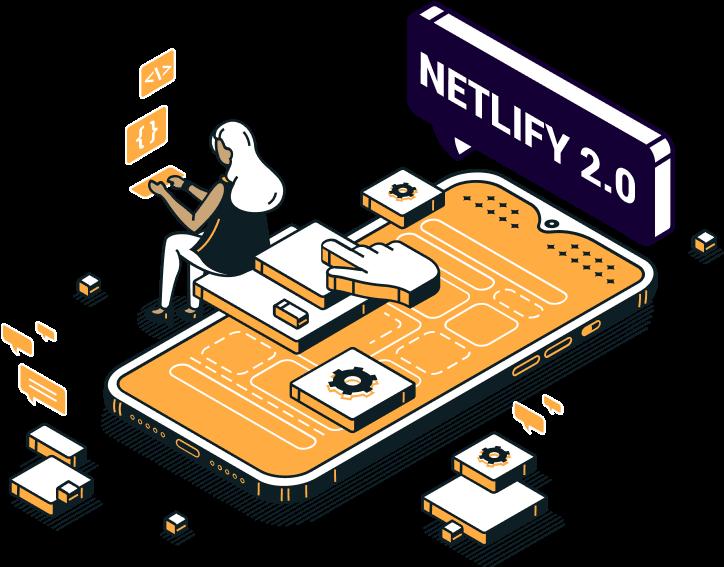 Netlify app design system icon