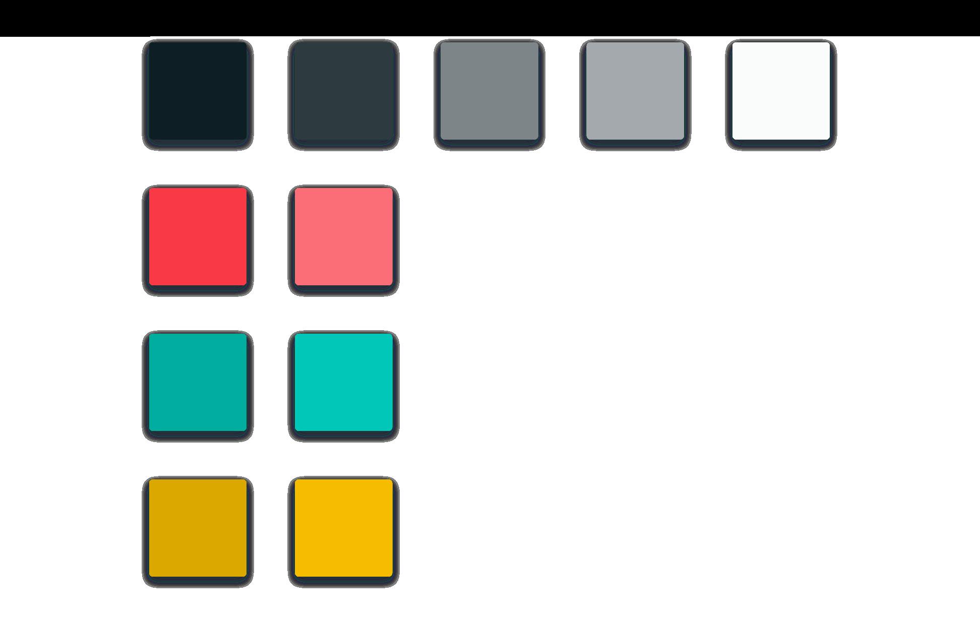Our final color palette