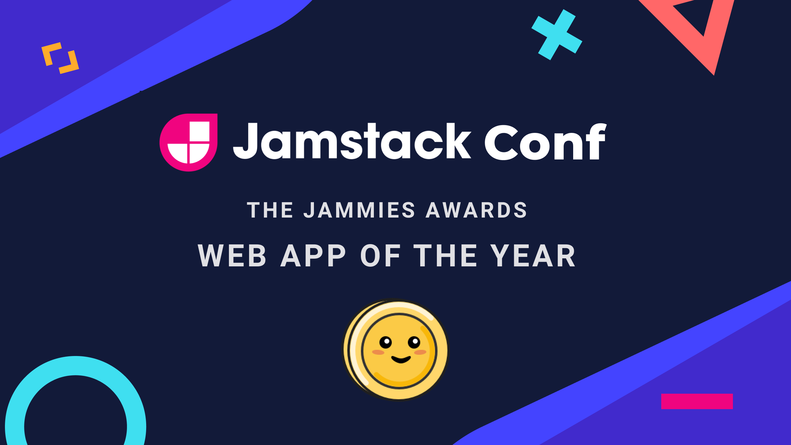 Jamstack Conf web app of the year 2020