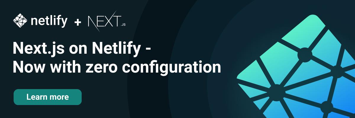 Next.js on Netlify