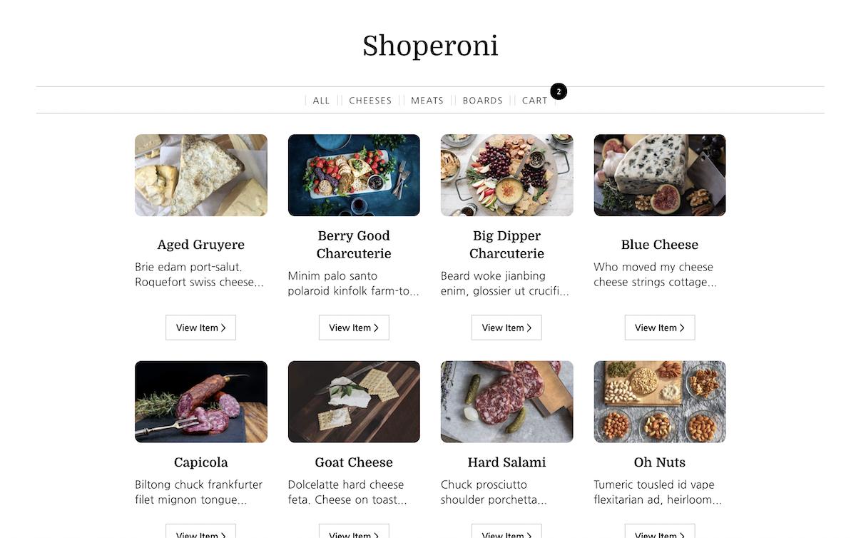 Screenshot of Shopify + Nuxt Kit