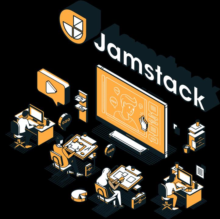 Netlify Jamstack Conf Virtual icon