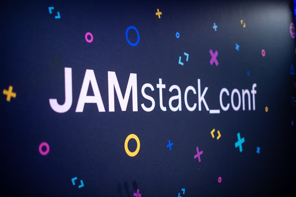 JAMstack_conf stage banner