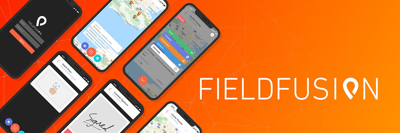 Fieldfusion mobile app UI