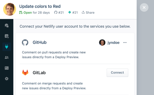 How to connect GitLab to Netlify