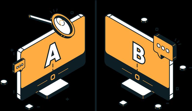 Netlify split testing icon