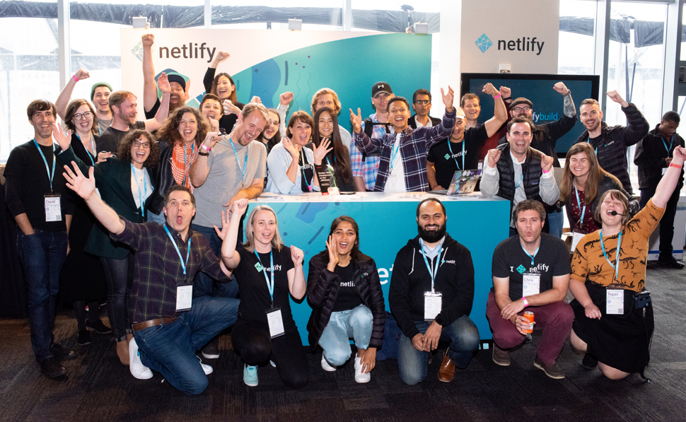 Netlifyers celebrate another successful JAMstack Conference