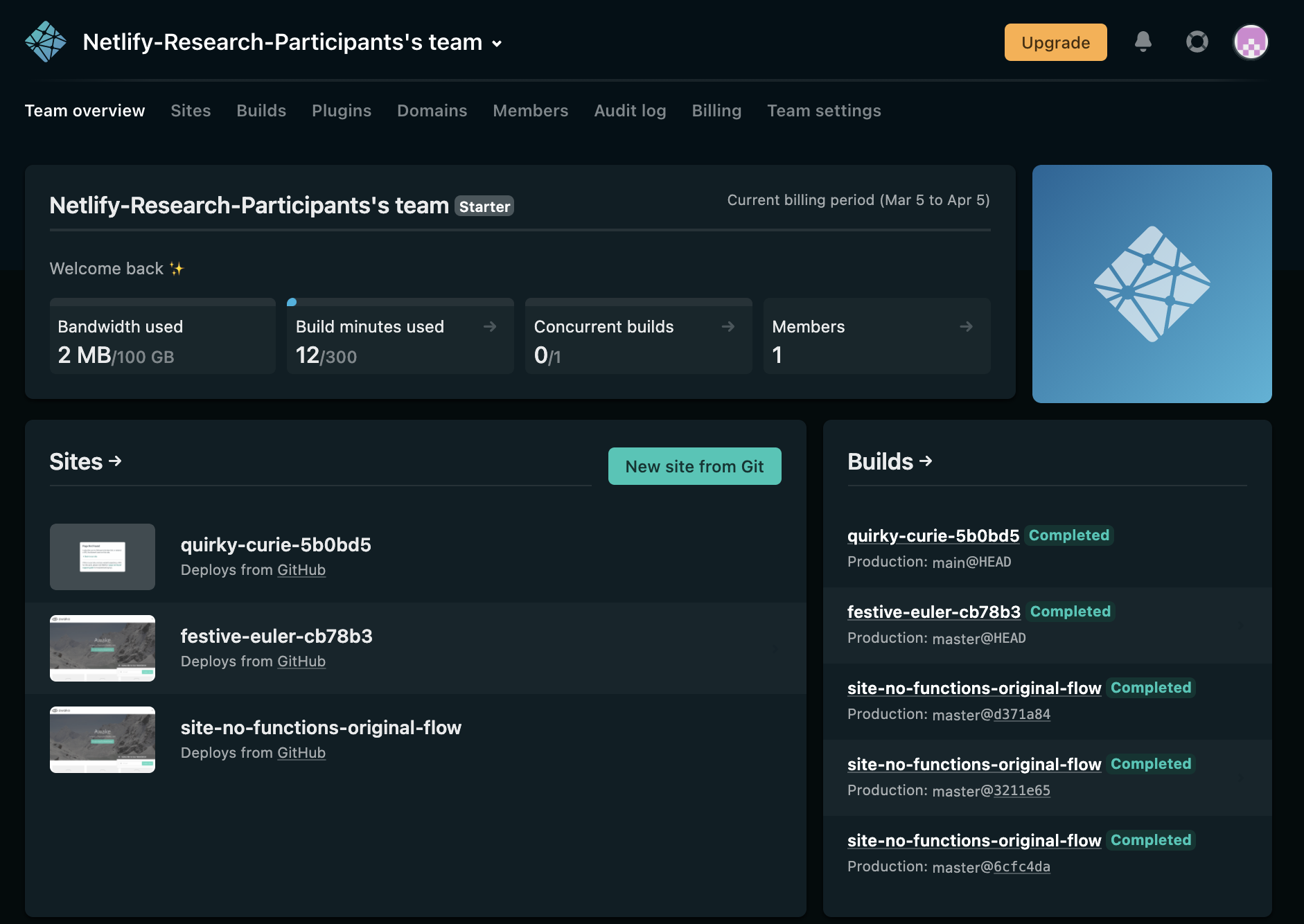 Try Dark Mode today with Netlify Labs