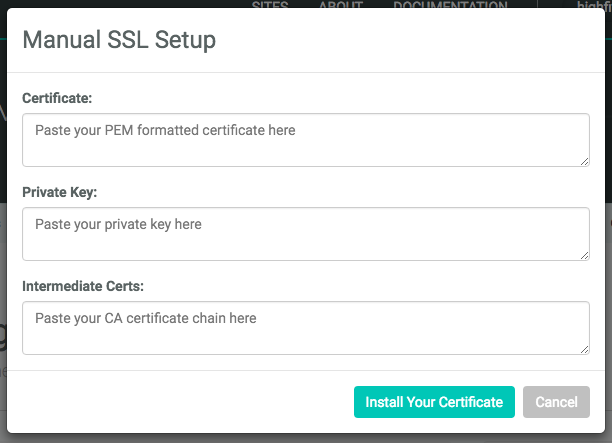 Installing Your Own SSL Certificates: A Step-by-Step Guide | Netlify