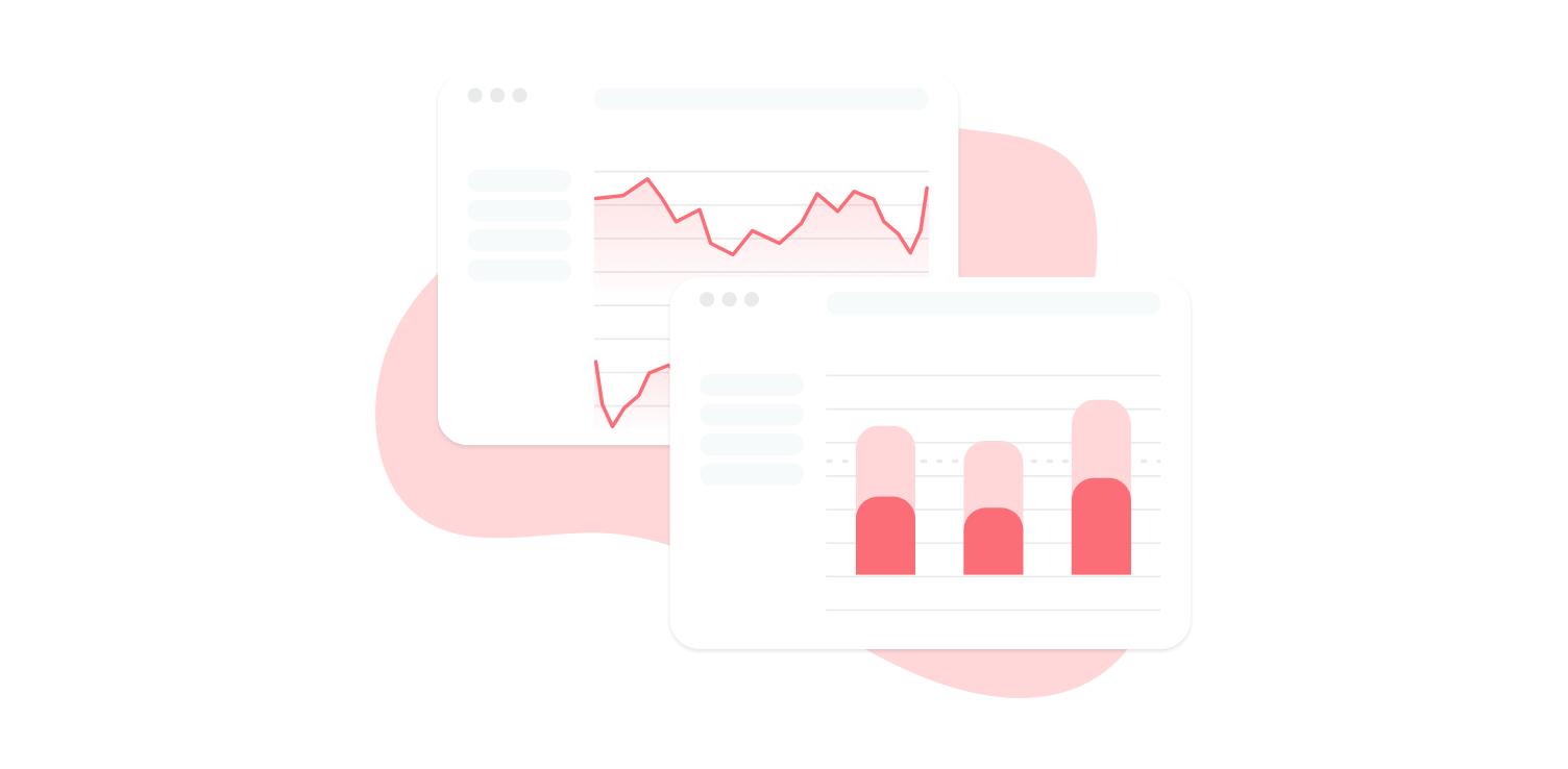 Illustration - Simple analytics chart