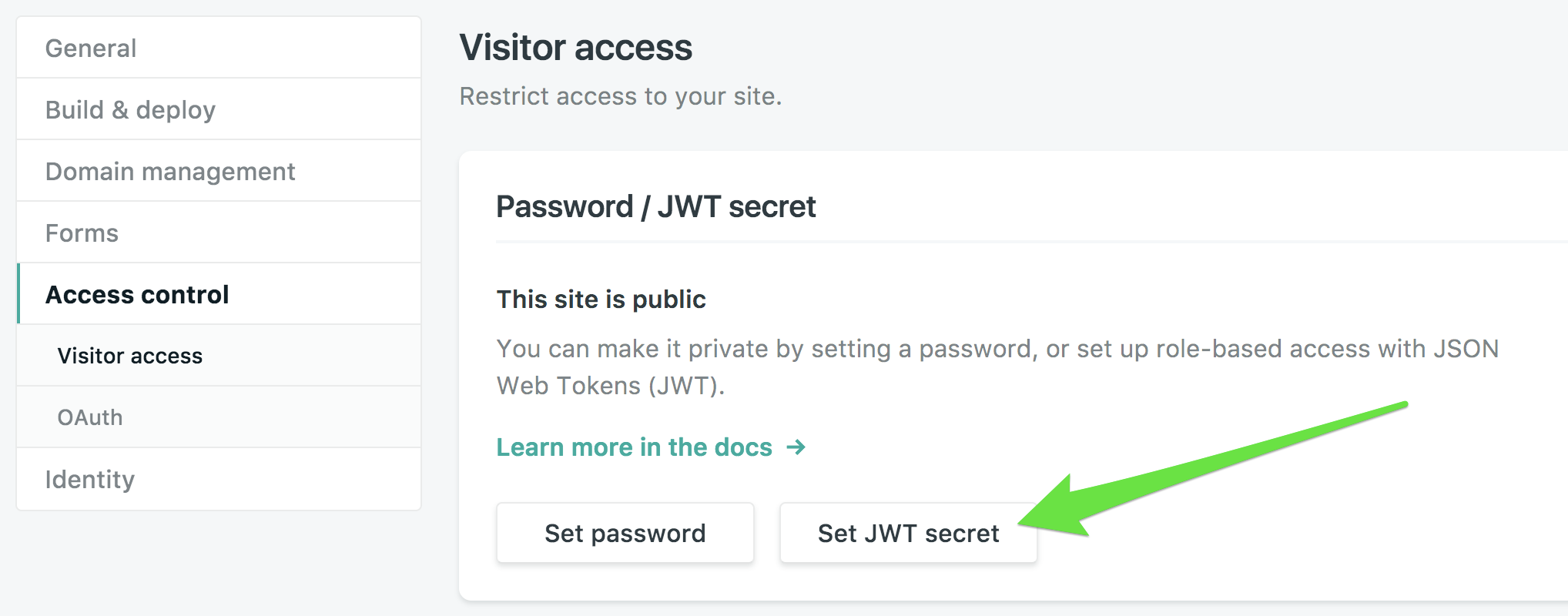 Getting Started with JWT and Identity | Netlify